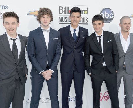 The Wanted arrive for the 2012 Billboard Music Awa