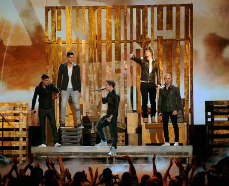 The Wanted perform live at the 2012 Billboard Musi