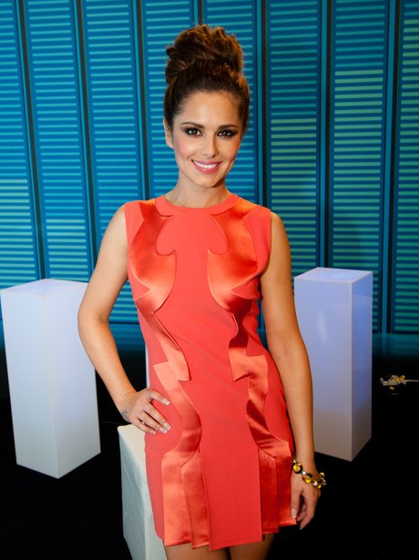Cheryl Cole backstage at the SUmmertime Ball 2012
