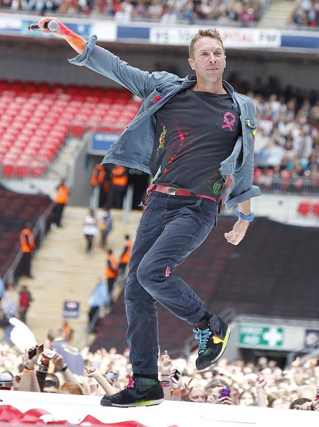 Coldplay Live At The Summertime Ball 2012