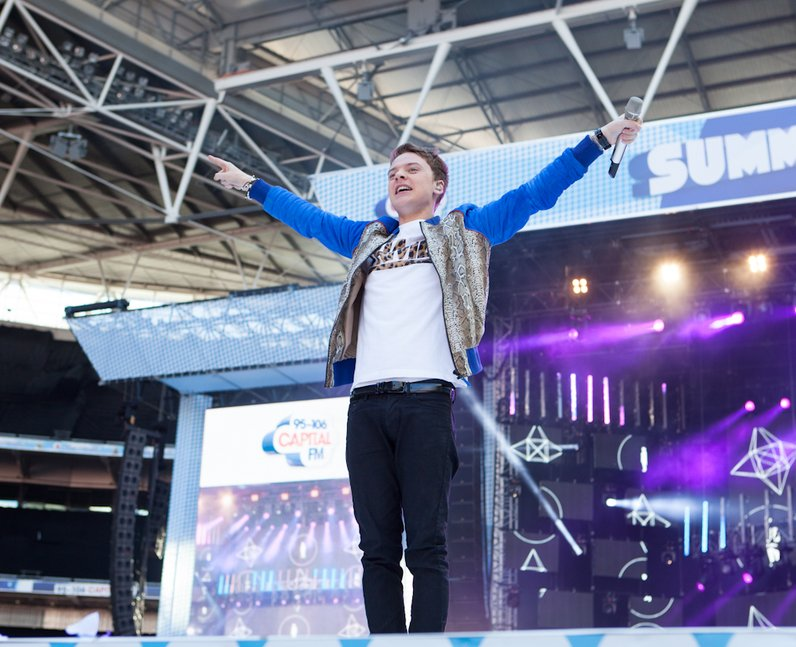 Conor Maynard live at the Summertime Ball 2012