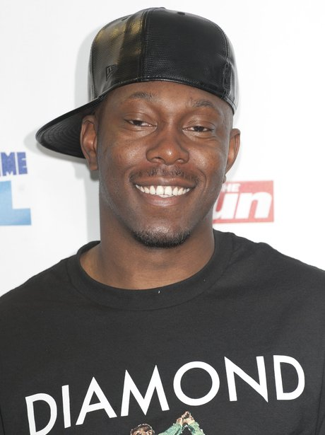 Dizzee Rascal arrives at the Summertime Ball 2012