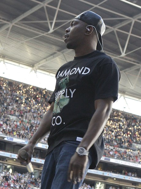 Dizzee Rascal live at the Summertime Ball 2012