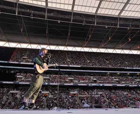Ed Sheeran live at the Summertime Ball 2012