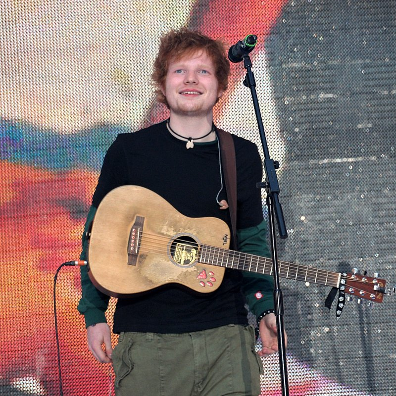 Ed Sheeran Summertime Ball 2012