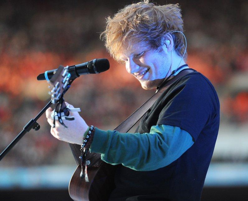 Ed Sheeran live at the Summertime Ball 2012