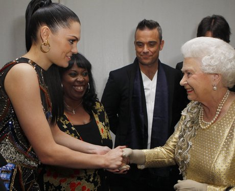 Jessie J and The Queen