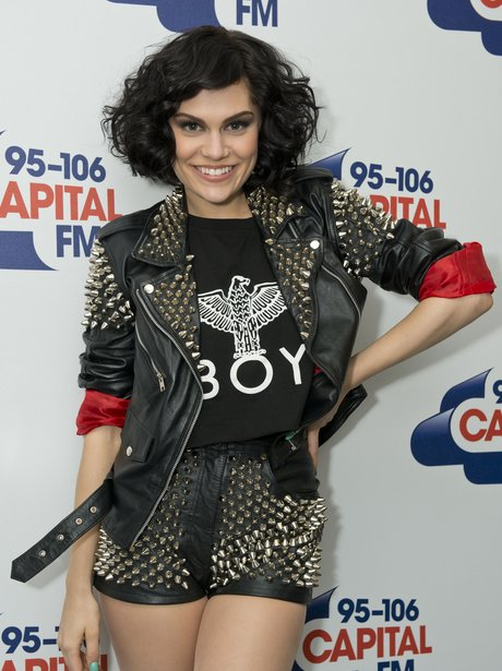 Jessie J backstage at the Summertime Ball 2012