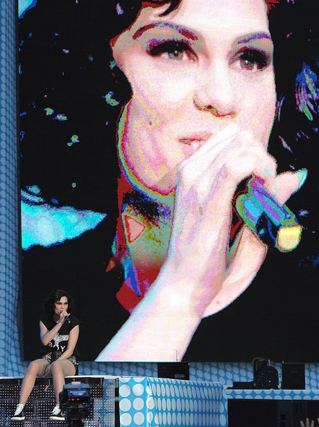 Jessie J live at the Summertime Ball 2012