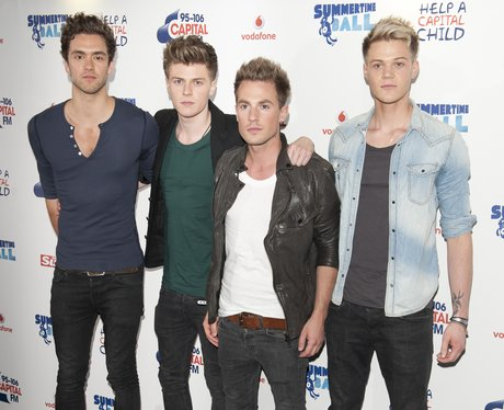 Lawson arrive at the Summertime Ball 2012