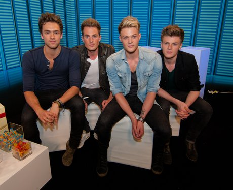 Lawson backstage at Summertime Ball