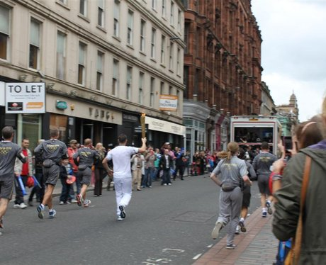 Olympic Torch Relay Glasgow