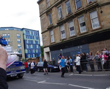 See what happened when the Olympic Torch came to G