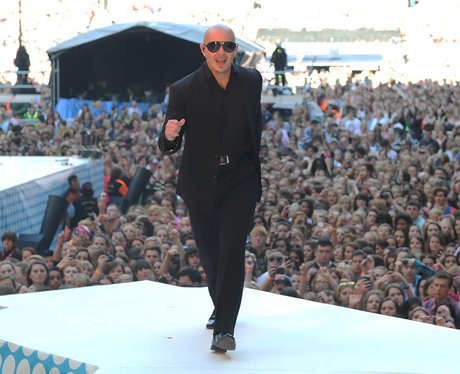 Pitbull live at the Summertime Ball 2012