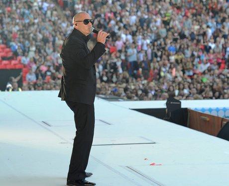 Pitbull live at the Summertime Ball 2012