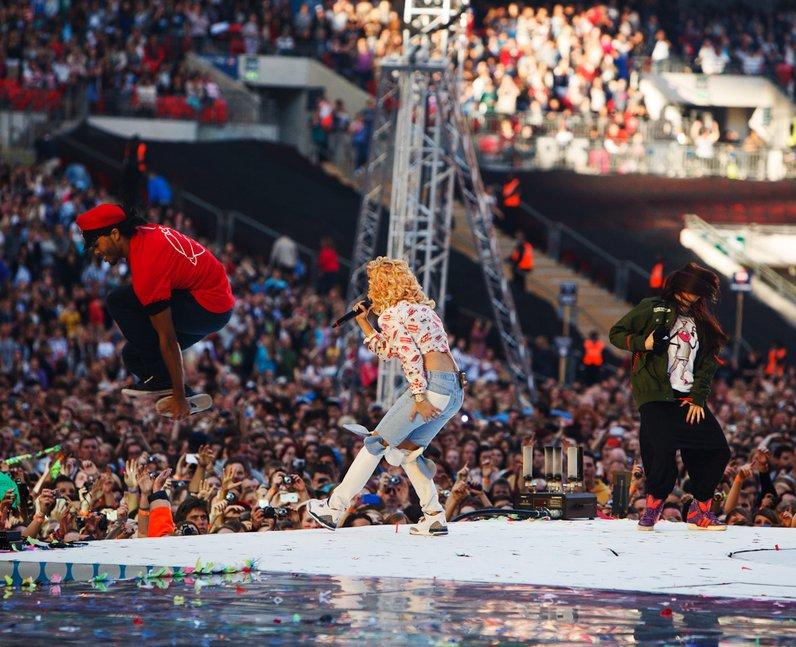 Rita Ora live at the Summertime Ball 2012