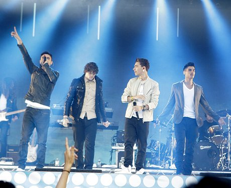 The Wanted live at the Summertime Ball 2012