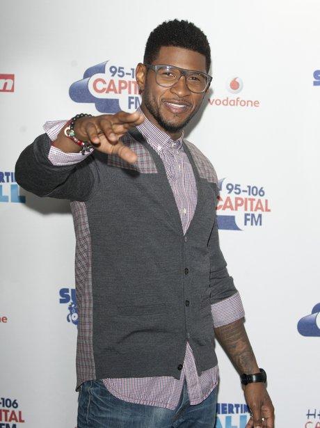 Usher arrives at the Summertime Ball 2012