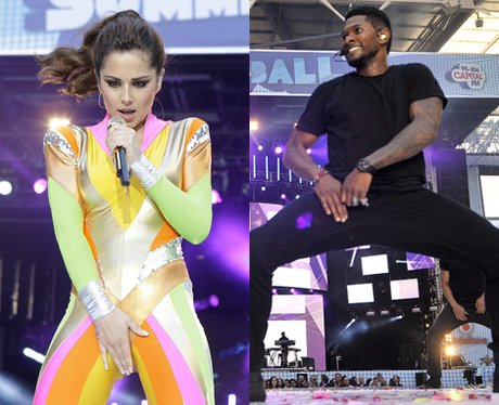 Cheryl Cole and usher