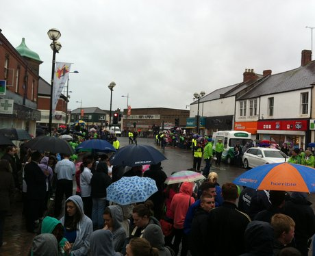 Olympic Torch Relay - Ashington 2