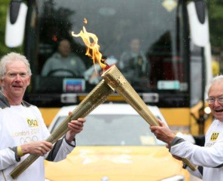 Olympic Torch Relay - Ashington