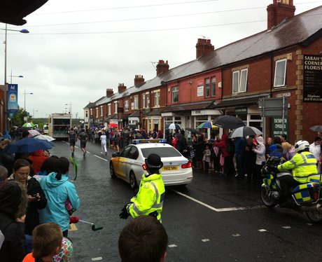 Olympic Torch Relay - Ashington 8