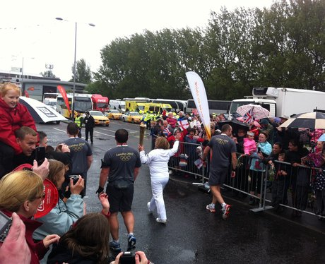Olympic Torch Relay - Blyth 8