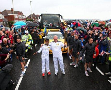 Olympic Torch Relay - Gateshead to Durham