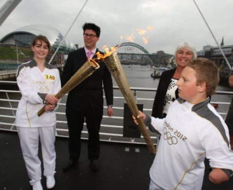 Olympic Torch Relay - Newcastle