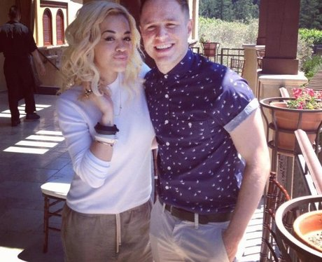 Rita Ora and Olly Murs