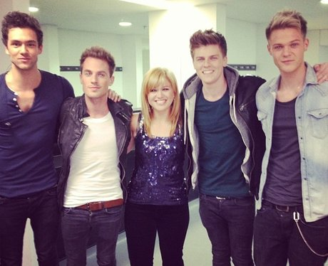 Lawson and Kelly Clarkson
