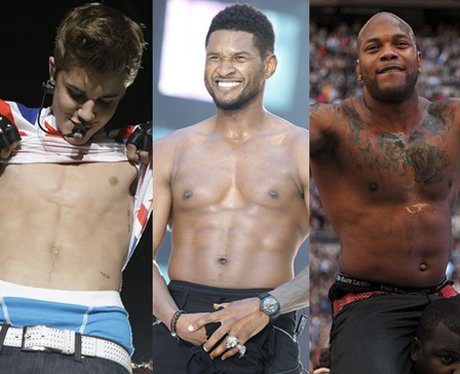 Usher, Justin Bieber and Flo Rida