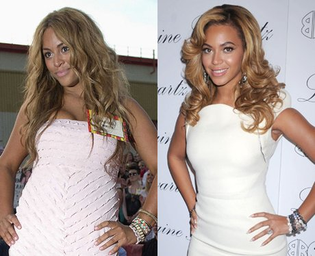 Beyonce or beyonce look alike
