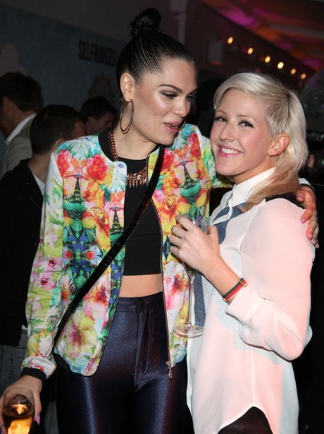 Jessie J and Elie Goulding