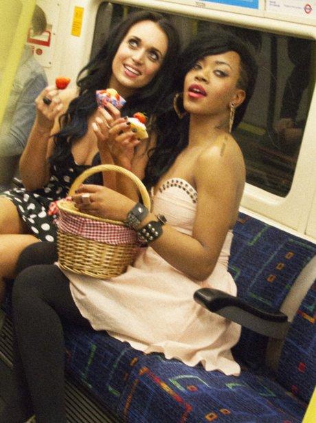 Katy Perry and Rihanna lookalikes