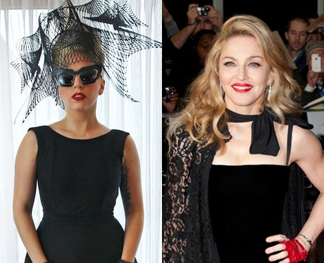 Lady Gaga and Madonna