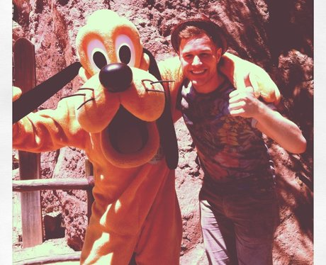 Olly Murs and Pluto