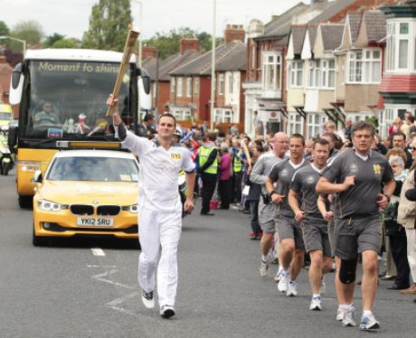 Olympic Torch Relay - Durham to Middlesbrough