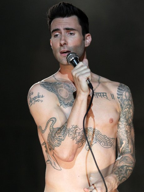 For the adam levine nudes opinion