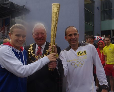Olympic Torch - Mansfield