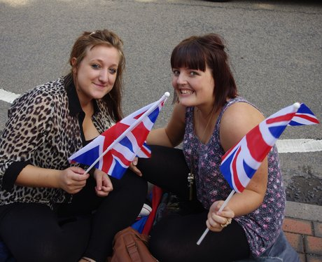 Olympic Torch - West Bridgeford
