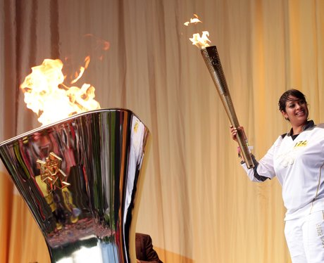 Olympic Torch Cauldron