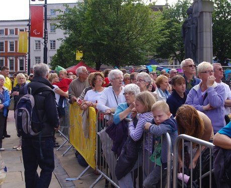 Olympic Torch Relay - Derby Market Place - Friday