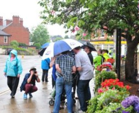 Olympic Torch Relay - Mansfield to Nottingham