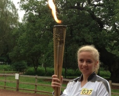 Olympic Torch Relay - Mansfield to Nottingham 1