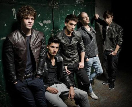 The Wanted Press Shot