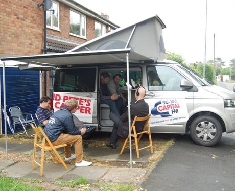 Dino & Pete and the Capital Camper in Asfordby