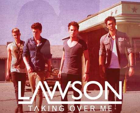 Lawson's 'Taking Over Me' single artwork.