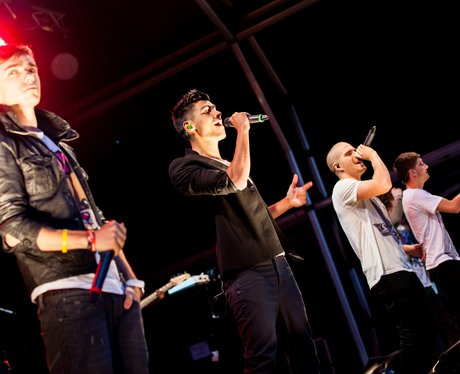 The Wanted perform at Love Luton 2012