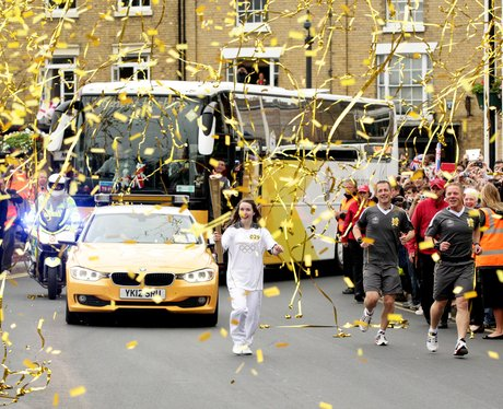 olympic torch relay coventry to leicester